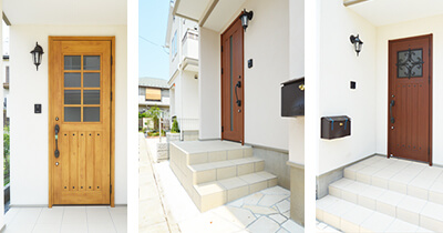 玄関ドア&アプローチ イメージ