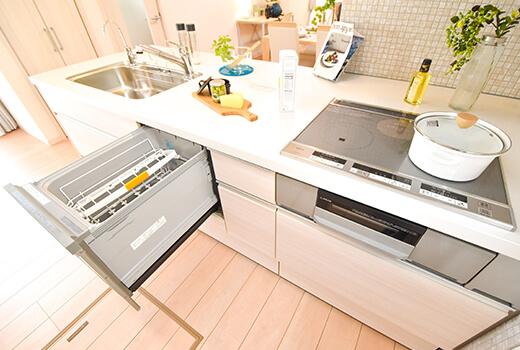 食洗器&IHヒーター イメージ