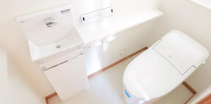 トイレ手洗い イメージ