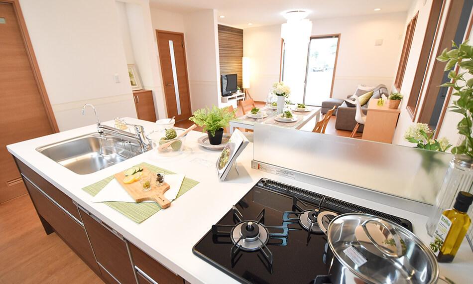 キッチンからの眺め イメージ