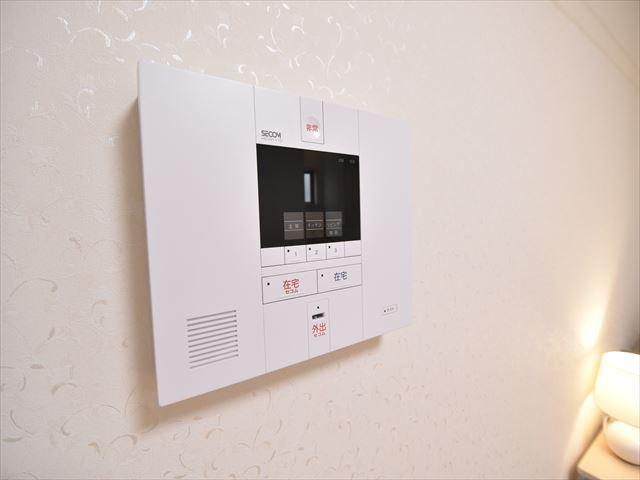 【施工例】ご家族の安心と安全を守るセコムホームセキュリティーを標準装備!
