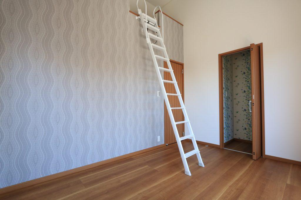 【施工例】お子様の隠れ家や収納等、使い道様々なロフト!
