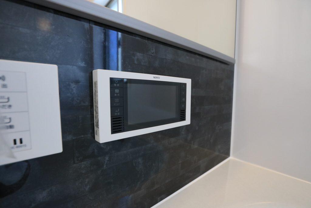 【施工例】一日の疲れを癒す浴室には5.5インチのTV付き!